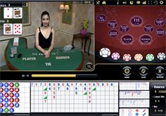 Baccarat Squeeze Vivo Gaming